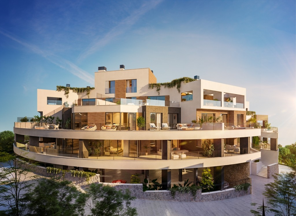 3 bed penthouse in Marbella East